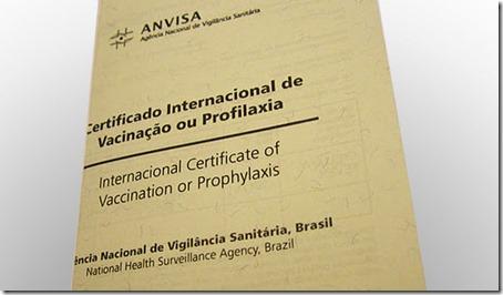 certificado internacional de vacinação imagem 2