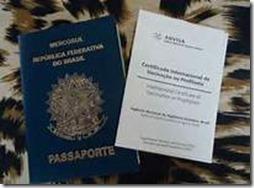 certificado internacional de vacinação imagem