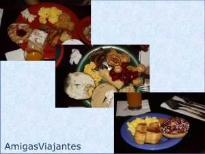 foto refeições com personagens